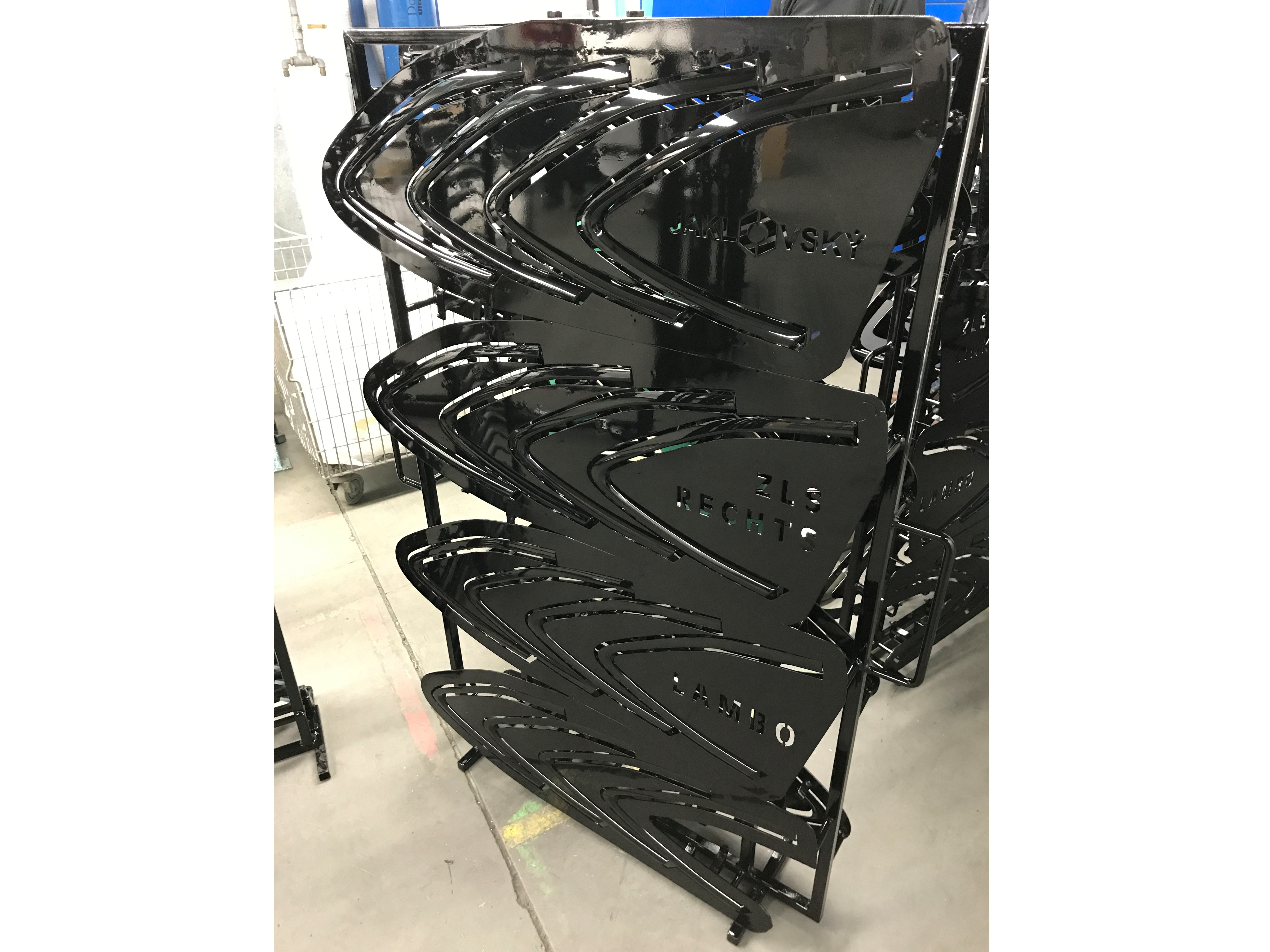 Rack systems for Lamborghini